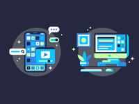 UI Kits / Mockups