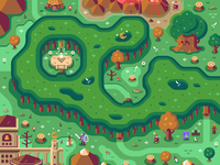 Lost Woods - Discord Overworld Mural