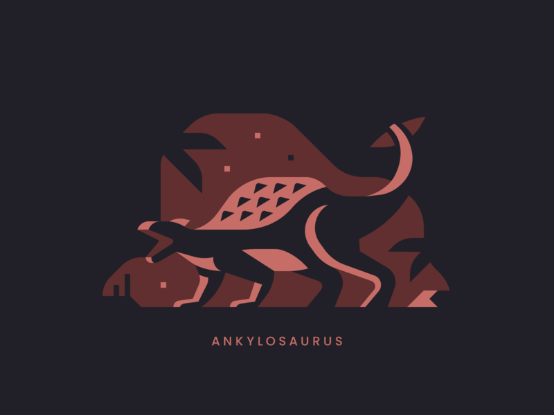 Ankylosaurus plant fern park jurassic spike spine reptile armor dinosaur