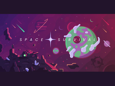 Space Survival (Game Concept Art)