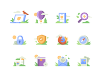 DuckDuckGo - About Page Icons