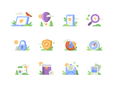 DuckDuckGo - About Page Icons cardinal bird photos email maps safari firefox icon security duckduckgo privacy