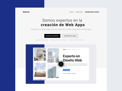 Bootstrap 4 Free Template html free theme free template template theme mexico sass web design website landing ux design ui design bootstrap 4 bootstrap