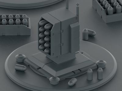 Defense Turrets WIP