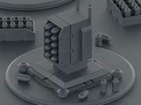 Defense Turrets WIP