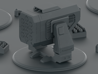 Halo Missile Turret WIP