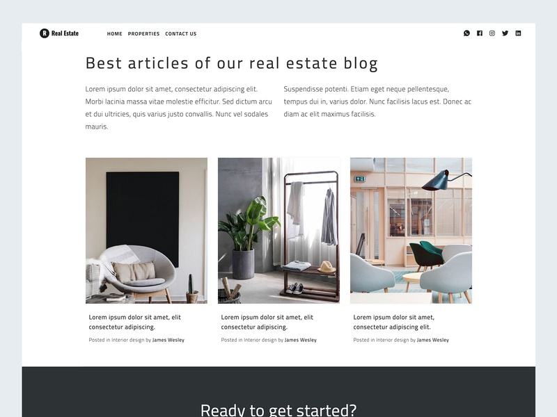 Free Real Estate Template tutorial template theme real estate mexico free theme free template free html free bootstrap freebies freebie coding
