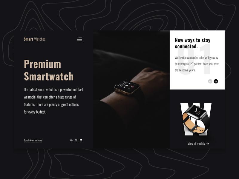 Smartwatch theme apple smartwatch black dark mode ux design ui design ux ui simple mexico clean