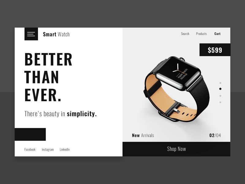 Smart Watch mexico dark mode theme dark ui dark ux design ui design ux ui clean smartwatch watch