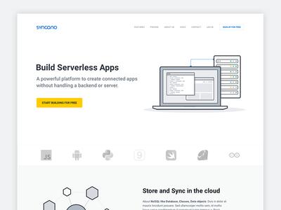 Syncano redesign