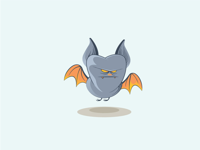 Mr. Bat beq logo icon bat