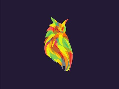 O W L forsale premade beq illustration logo icon owl