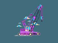 Pinky Crane