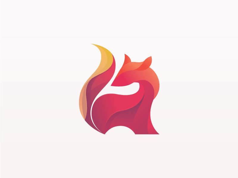 Dribbble Fox for sale forsale beq mascot website ux branding cool wave fox logo logo icon fox
