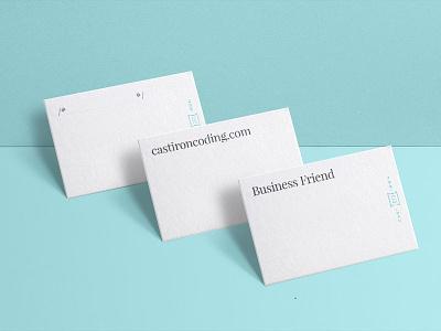 Cast Iron Business cards cast iron coding cast iron business cards