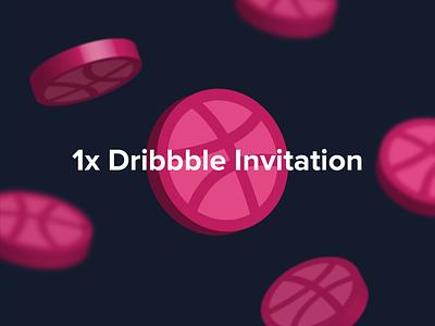 1x Dribbble invite design joindribbble invite 1xinvite dribbble invites dribbble invite dribbble invitation dribbbleinvitation dribble