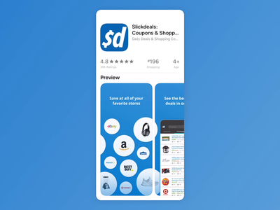 Wes Mason Projects Slickdeals Dribbble