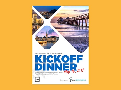 YLC Kickoff Dinner Poster