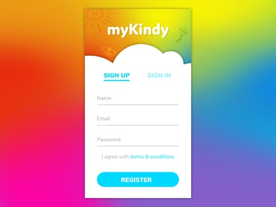 DailyUI001 - Signup form