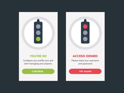 Daily UI #011. Flash Message