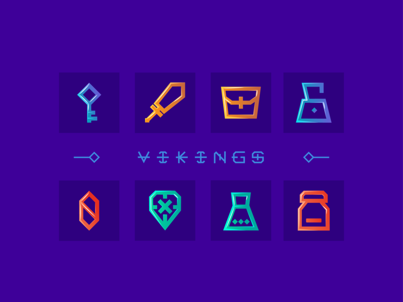 NORDIC GAME ICONS concept-art design icons game-art