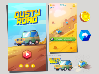 DUSTYROAD Gamescreen