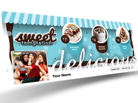 My Ice Cream Store Facebook Cover 1   Dribbble