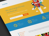 Illustra - Landing Page