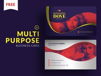 Free - Multipurpose Business Card 9 print template freebie free photoshop template cooledition business card freebie free business card business card