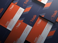 Modern Business Card 1 modern photoshop psd template business card