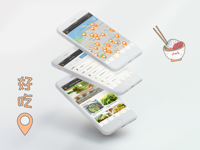 Food Delivery & Booking app uidesign booking navigation app mapping map delivery app booking app ui mobile ui