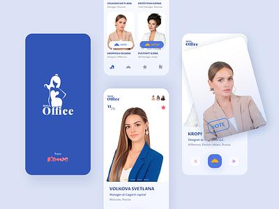 Miss Office app mobile design fashion figma branding application ui mobile ui ui design