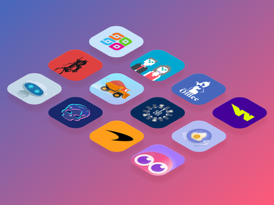 Some app icons ui app icons icon design app design app icon application mobile ui