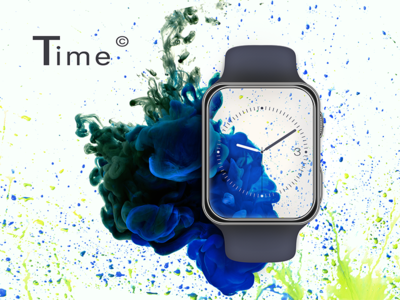 Watch branding ui digitalart watch graphic design composition applewatch retouch editing phototmanipulation