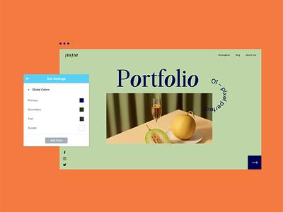Elementor Global Colors wordpress ui website website builder web creator global colors elementor app ux branding design