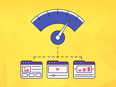 Web Analytics Material Icon design web illustration color icon material ux ui