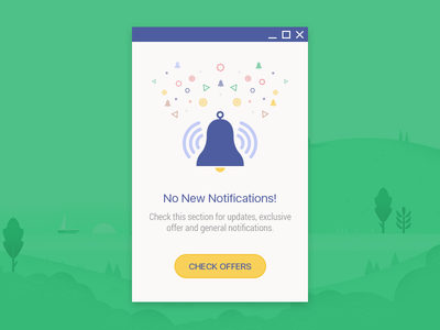 Material Notification Popup illustrations lollipop profile google icon color ui tabs android app button material