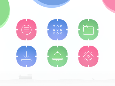 Material New Style Icons ios9 lollipop profile google icon color ui tabs android app button material