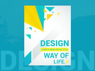 Quotes Creative Design life way print design quotes material google icon color ui illustrations
