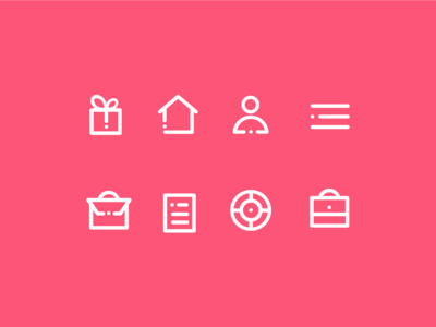 Personal Account Icons