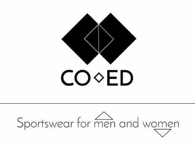 COED logo contest geometric line simple black and white brand logo design fashion