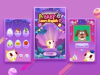 Baby Learn English APP Design