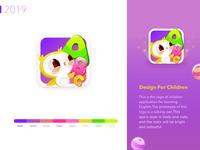 Baby Learn English Logo Design