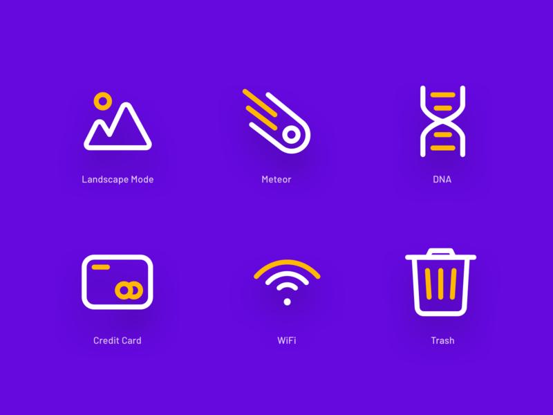 Iconspace Exploration vol 2 vector iconspace icon set logo interface design icon premium icon landing page freebies icon illustration