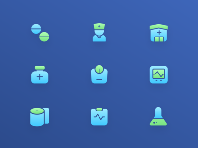 Iconspace Exploration vol 4 : Medical Icon Set