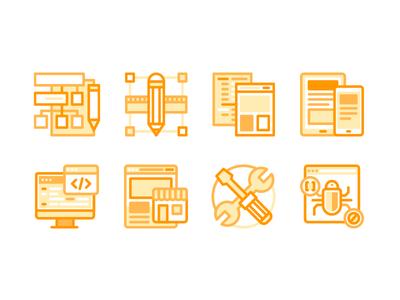 Zenfox Icon Vol.1 bug e-commerce develop app mobile design strategy services icon