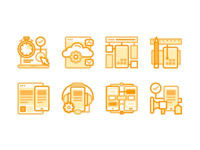 Zenfox Icon Vol.2 customer support marketing bug e-commerce develop app mobile design strategy services icon
