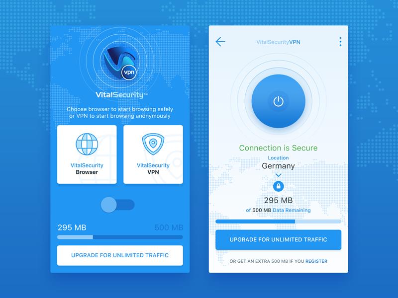 VitalSecurity VPN browser vpn security vital vitalsecurity app