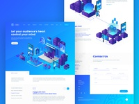 Landing Page for Product Analytics A.I