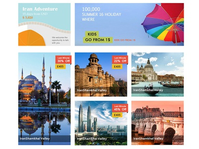 Travel Agancy journey tourism tourist travel travel-agancy web ui homepage landing-page webdesign website